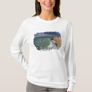 T-shirt Porto Rico, côte ouest, Cabo Rojo, littoral 2