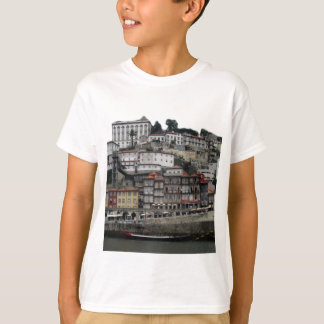 T-shirt Porto (vue de la rivière)