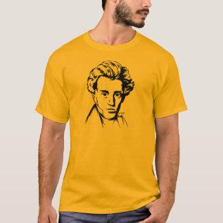T-shirt Portra d'existentialiste de philosophie de Soren