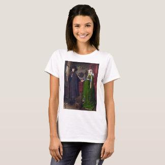 T-shirt Portrait 1434 de JANV. VAN EYCK- Arnolfini