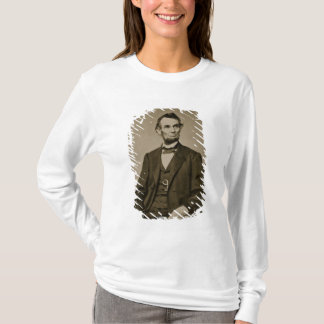 T-shirt Portrait d'Abraham Lincoln (1809-65) (photo de