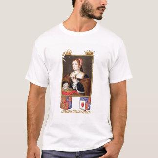 T-shirt Portrait de 1489-1541) reines de Margaret Tudor