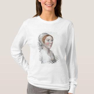 T-shirt Portrait de Catherine Howard (1520-42) gravé par