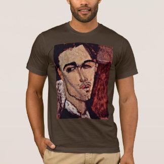 T-shirt Portrait de Celso Lagar par Modigliani Amedeo