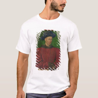 T-shirt Portrait de Charles VII, c.1445-50