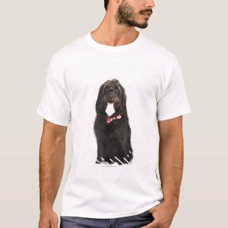T-shirt Portrait de chien de Labradoodle
