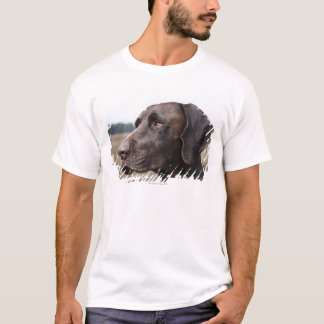 T-shirt Portrait de chien, Houston, le Texas, Etats-Unis