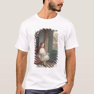 T-shirt Portrait de Clara Hughes, 1902 (huile sur la