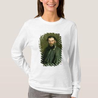 T-shirt Portrait de compte Lev Nikolaevich Tolstoy 1873