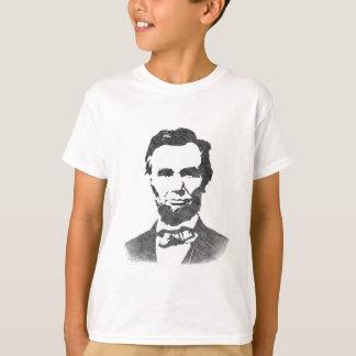 T-shirt Portrait de cru d'Abraham Lincoln