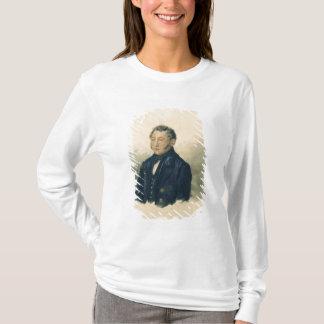 T-shirt Portrait de Faddey Venediktovich Bulgarin, c.1840