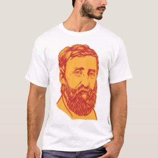 T-shirt Portrait de Henry David Thoreau