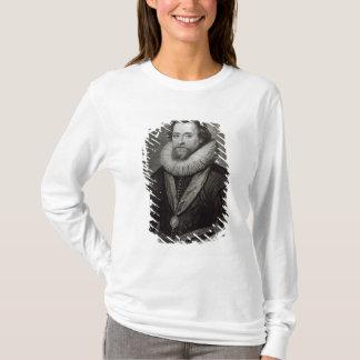 T-shirt Portrait de James I après une miniature par