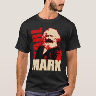 T-shirt Portrait de Karl Marx - socialiste et communiste