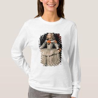 T-shirt Portrait de la margarita d'Infanta âgée cinq