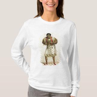 T-shirt Portrait de M. Edmund Kean comme Othello