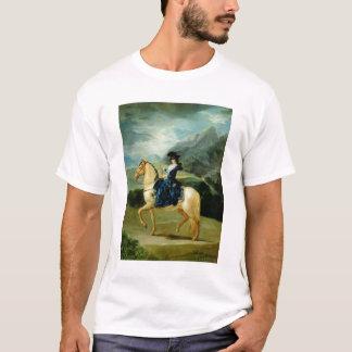 T-shirt Portrait de Maria Teresa de Vallabriga sur le