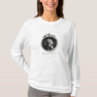 T-shirt Portrait de médaillon de Giacomo Casanova, âge 63