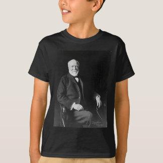 T-shirt Portrait de philanthrope Andrew Carnegie