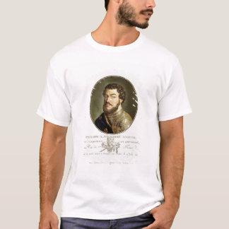 T-shirt Portrait de Philip II, appelé Augustus, roi de