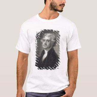 T-shirt Portrait de Thomas Jefferson, gravé par le Br de