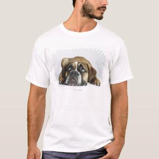 T-shirt Portrait de vieux Tyme bouledogue de Dorset