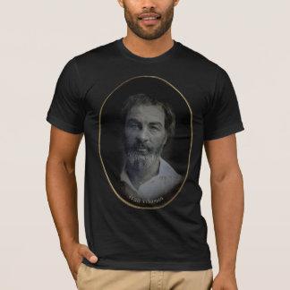 T-shirt Portrait de Walt Whitman Colorized, âge 35