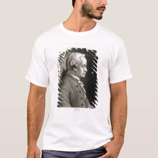 T-shirt Portrait d'Emmanuel Kant, philosophe allemand