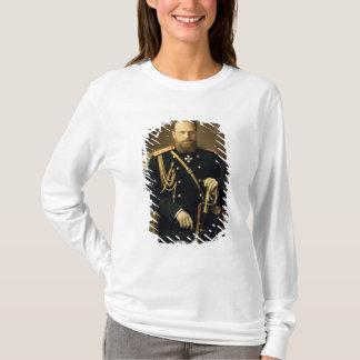 T-shirt Portrait d'empereur Alexandre III 1886