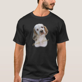 T-shirt Portrait d'épagneul de Clumber