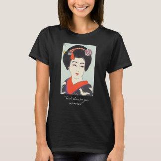 T-shirt Portrait des beaux-arts de Japonais de Maiko