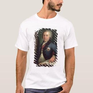 T-shirt Portrait du poète russe Gavril Derzhavin