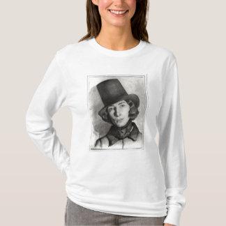 T-shirt Portrait du sable de Maurice