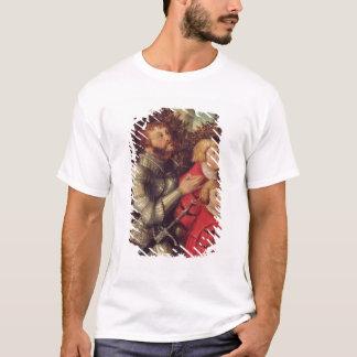 T-shirt Portrait d'un chevalier avec ses deux fils