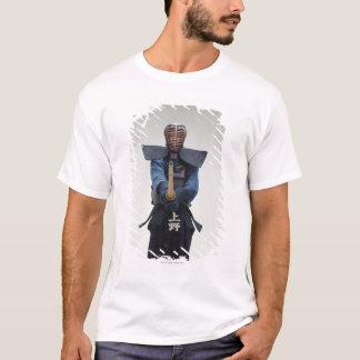 T-shirt Portrait d'un escrimeur de Kendo