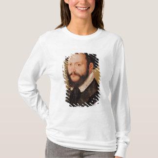 T-shirt Portrait d'un homme avec les cheveux de Brown,