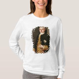 T-shirt Portrait d'un monsieur avec une boutonnière de