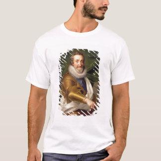 T-shirt Portrait d'un noble dans l'armure