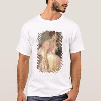 T-shirt Portrait d'une jeune femme