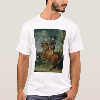 T-shirt Portrait équestre de Don Gaspar de Guzman