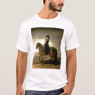 T-shirt Portrait équestre de la Reine Maria Luisa