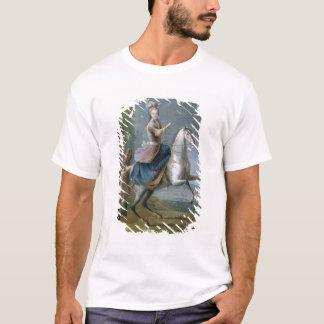 T-shirt Portrait équestre de Maria Leszczynska
