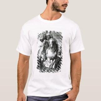 T-shirt Portrait équestre d'Oliver Cromwell