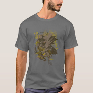 T-shirt Portrait grunge vintage de Batman