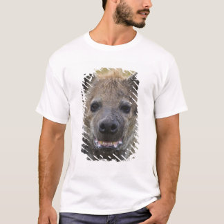 T-shirt Portrait repéré d'hyène, croduta de Crocuta, masai