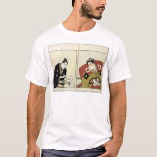 T-shirt Portraits de deux acteurs, 1803