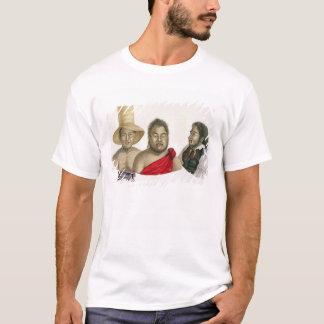 T-shirt Portraits des chefs des îles de sandwich, de