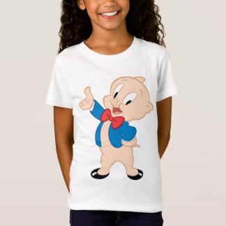 T-Shirt Pose classique grosse du porc |