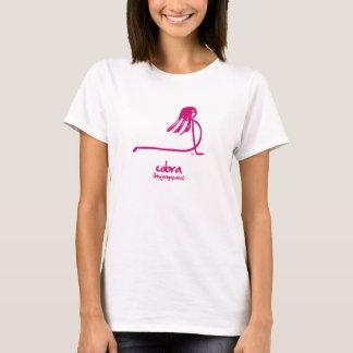 T-shirt Pose de cobra