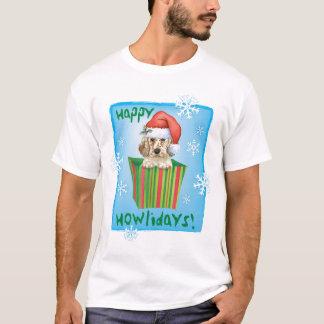 T-shirt Poseur anglais heureux de Howlidays